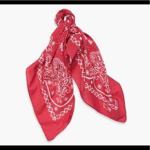 LEVIS Red White Bandana NEW